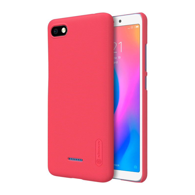 Защитный чехол Nillkin Super Frosted Shield для Xiaomi Redmi 6A red 1