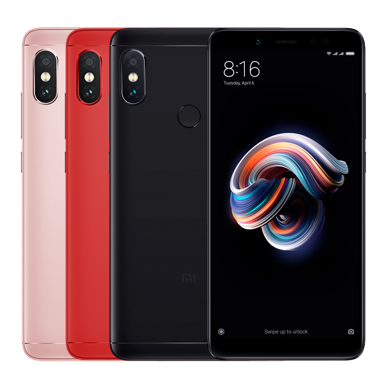 Redmi Note 5 4/64GB black 3
