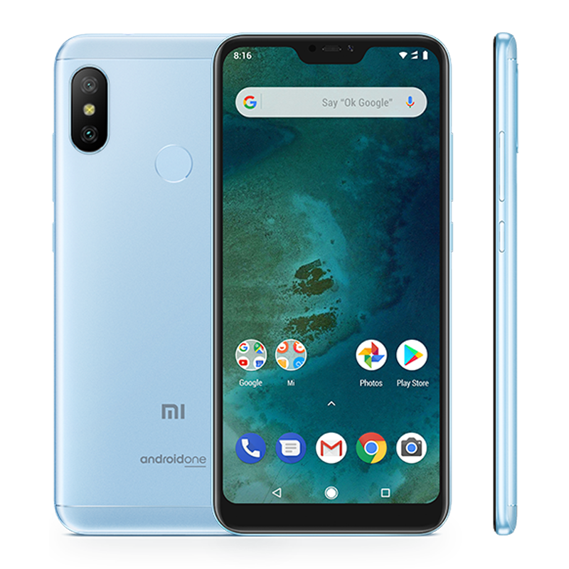 Mi A2 Lite 4/64 light-blue 1