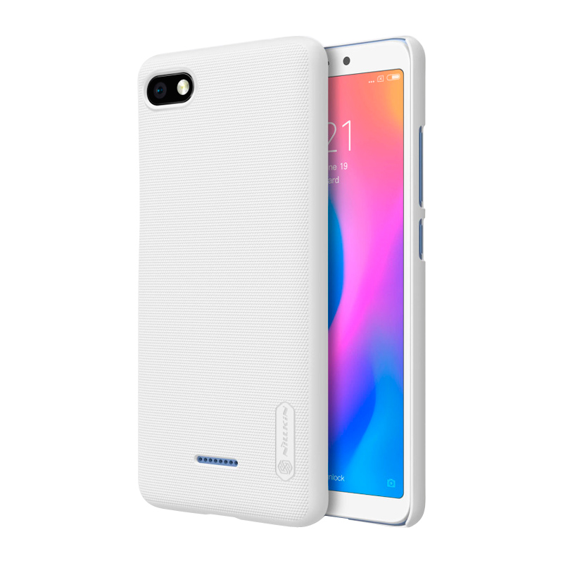 Защитный чехол Nillkin Super Frosted Shield для Xiaomi Redmi 6A white 1