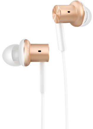 Наушники Mi In-Ear Headphone Pro gold 2