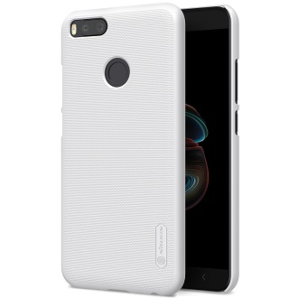 Чехол Nillkin Super Frosted Shield для Xiaomi Mi A1 White