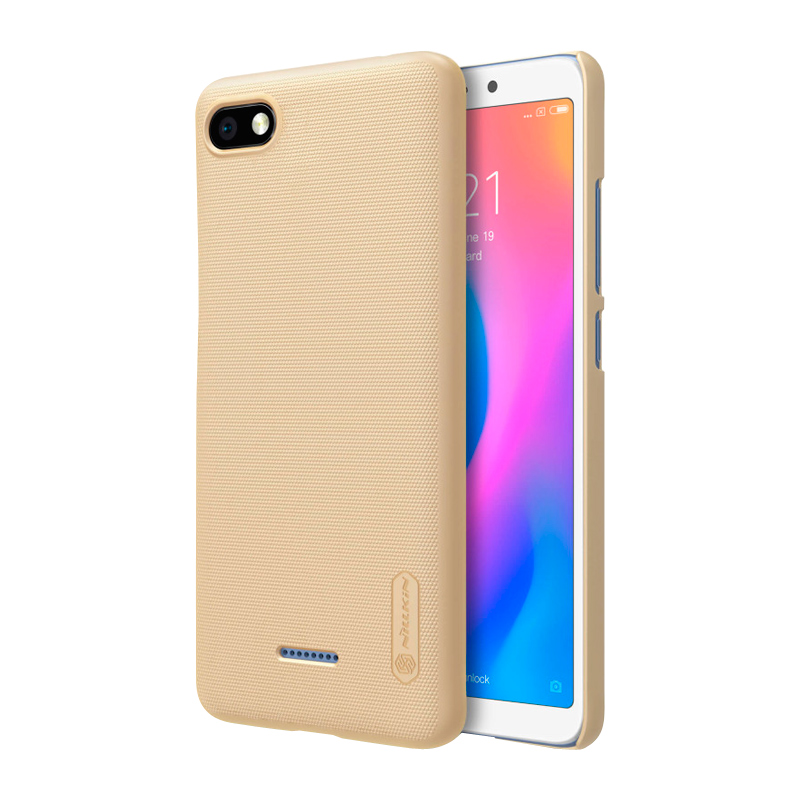 Защитный чехол Nillkin Super Frosted Shield для Xiaomi Redmi 6A gold 1