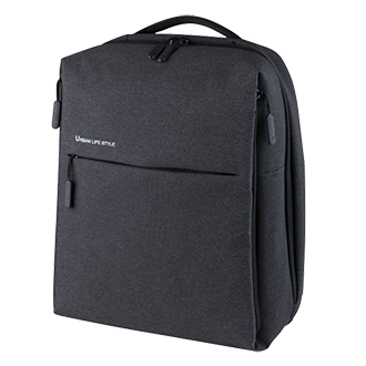 Mi City Backpack Dark Gray