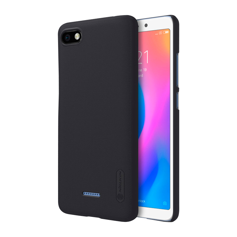 Защитный чехол Nillkin Super Frosted Shield для Xiaomi Redmi 6A black 1