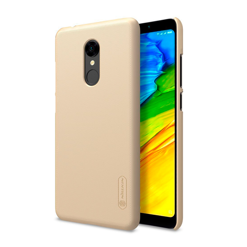 Защитный чехол Nillkin Super Frosted Shield для Xiaomi Redmi 5 gold 1