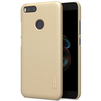 Чехол Nillkin Super Frosted Shield для Xiaomi Mi A1 Gold
