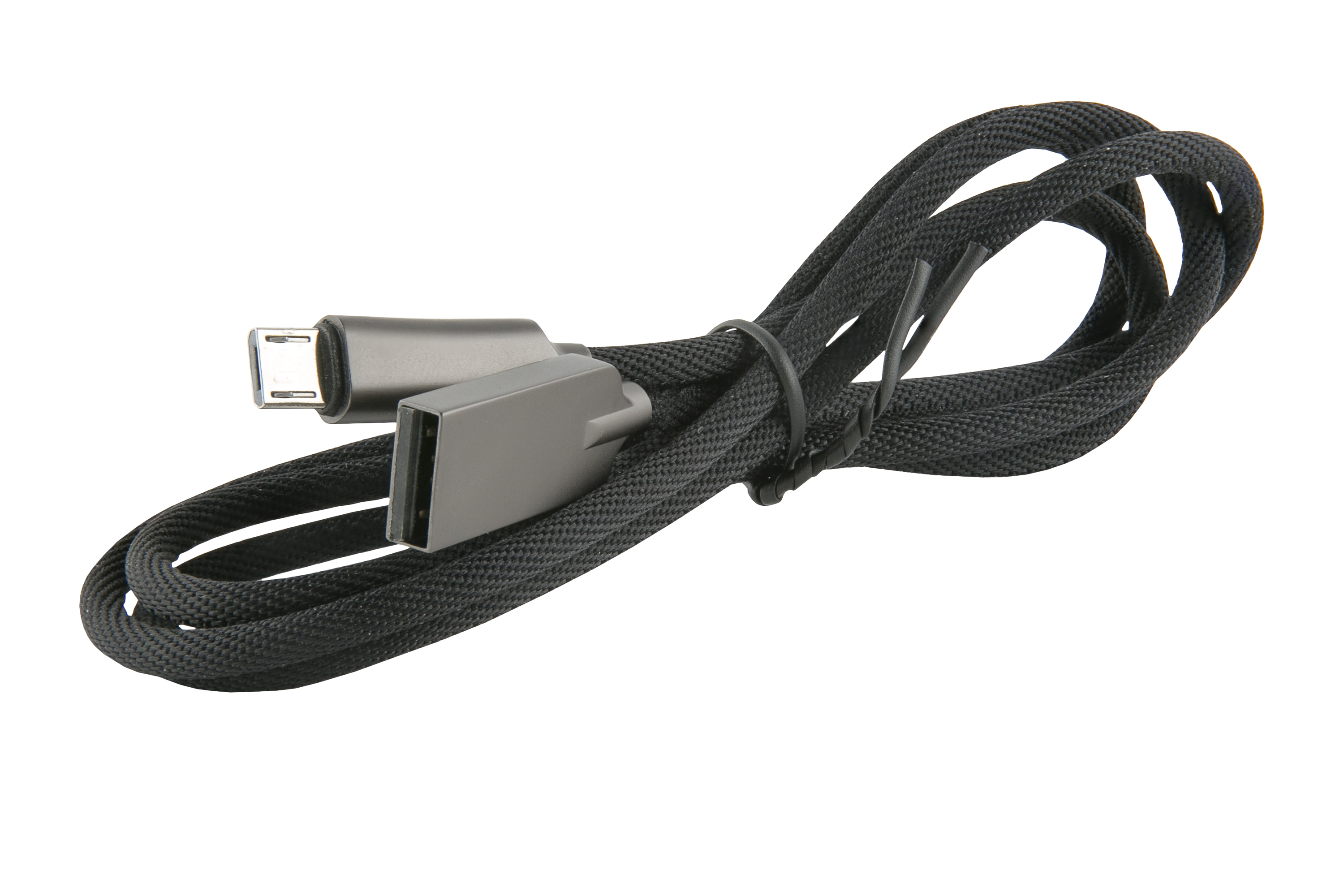 Дата-Кабель Red Line LX13 Zync alloy USB - Micro USB black 3