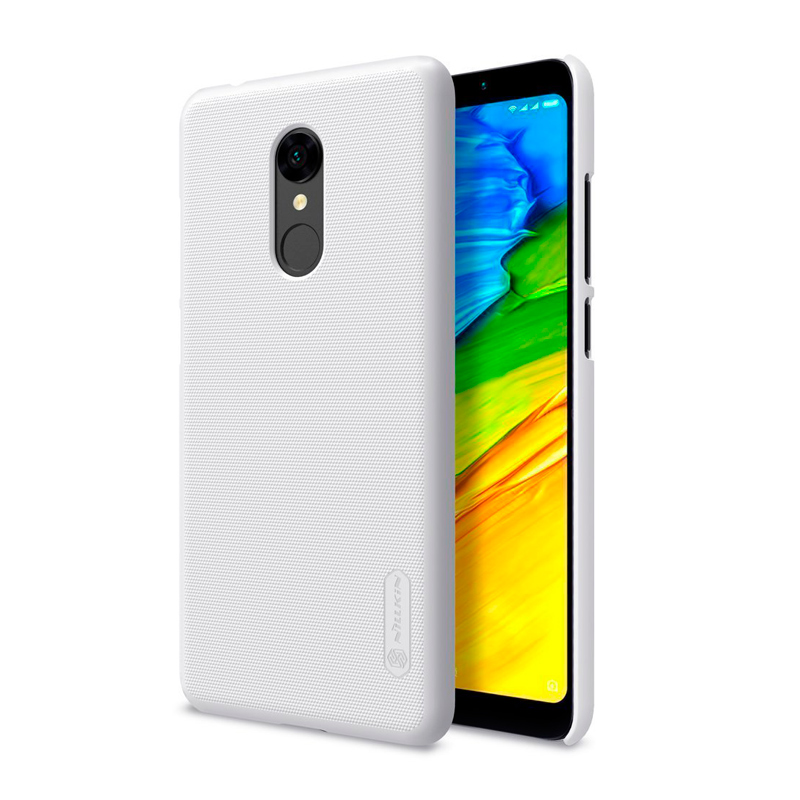 Защитный чехол Nillkin Super Frosted Shield для Xiaomi Redmi 5 white 1