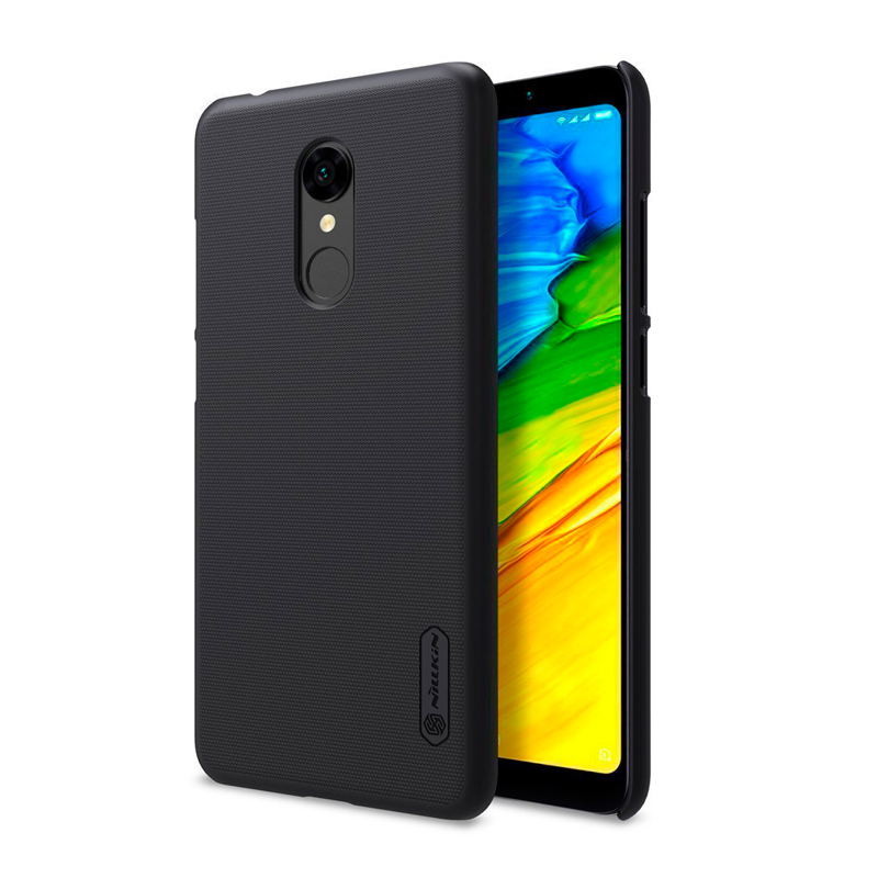 Защитный чехол Nillkin Super Frosted Shield для Xiaomi Redmi 5 black 1