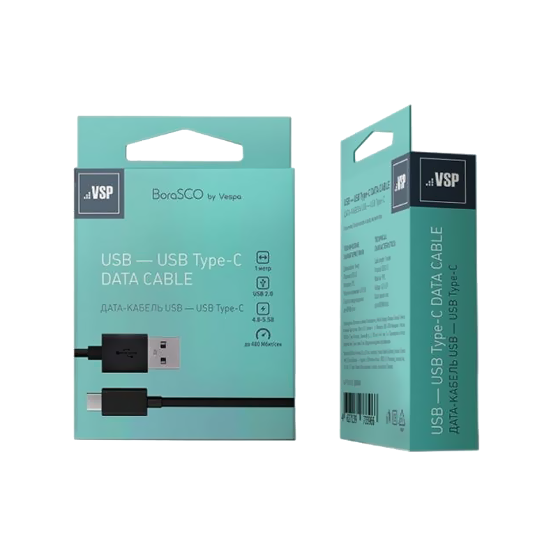 USB кабель BoraSCO (VSP)