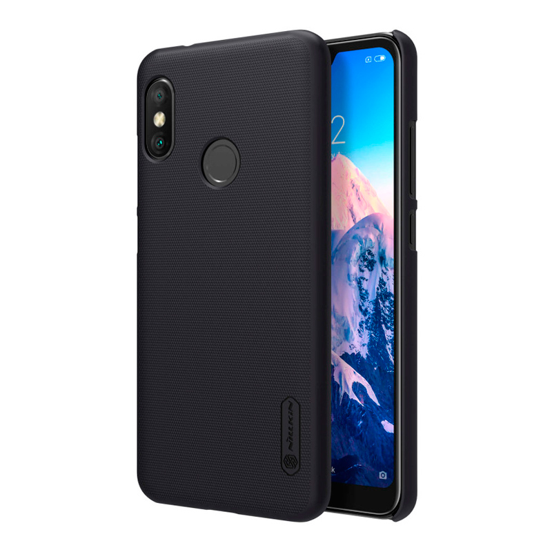 Защитный чехол Nillkin Super Frosted Shield для Mi A2 Lite black 1